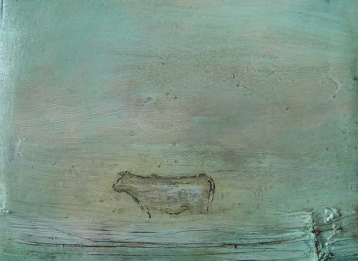 mary-donnelly Cow in Morning Haze