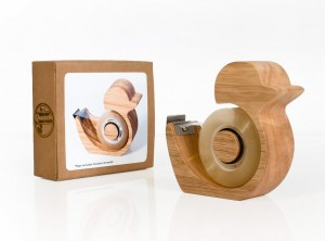 Quack tape dispenser and box