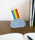 Cloud Pencil and Eraser set in situ