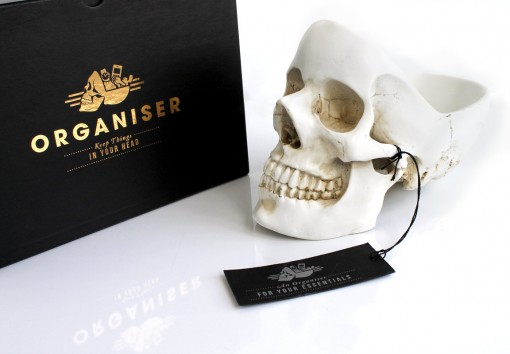 Skull Desk Tidy & Box
