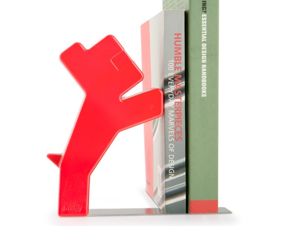 J-Me Buddy Bookend in red
