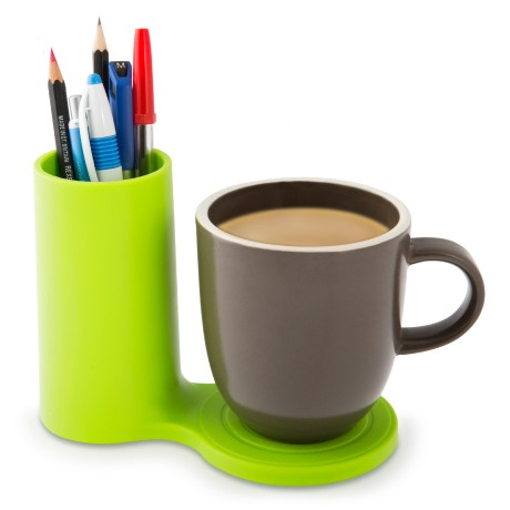 J-Me Jot Desk Coaster in green