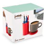 J-Me Jot Desk Coaster in its box