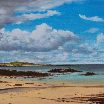 Coral Beach, Ballyconneely by Renee Plantereux