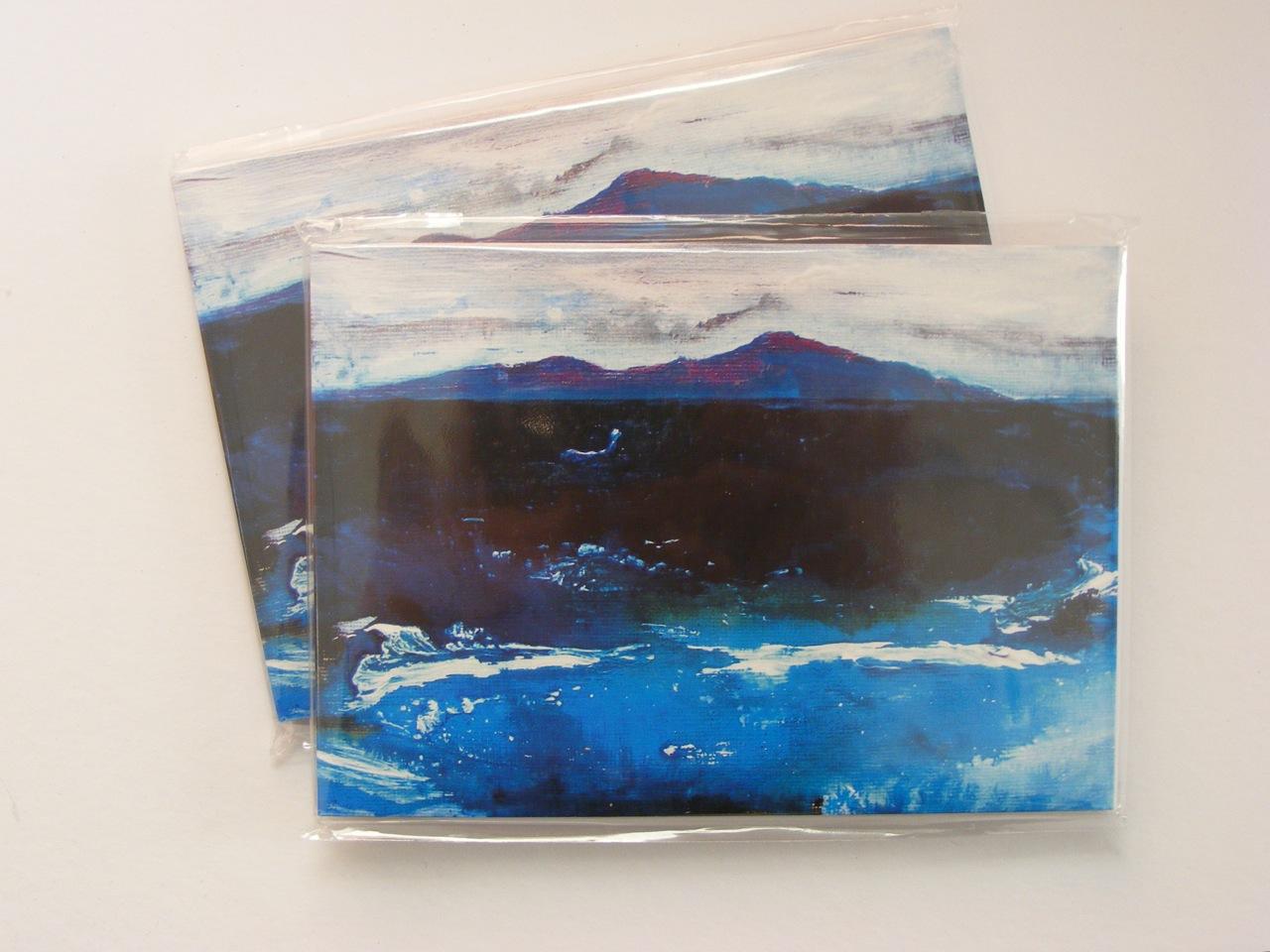 Winter Seascape Notebooks
