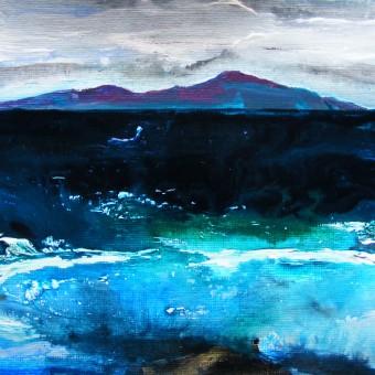 Winter Seascape by Deborah Watkins