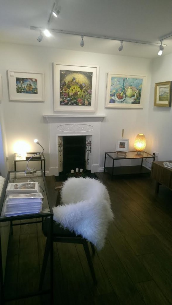 New room at the Lavelle Art Gallery