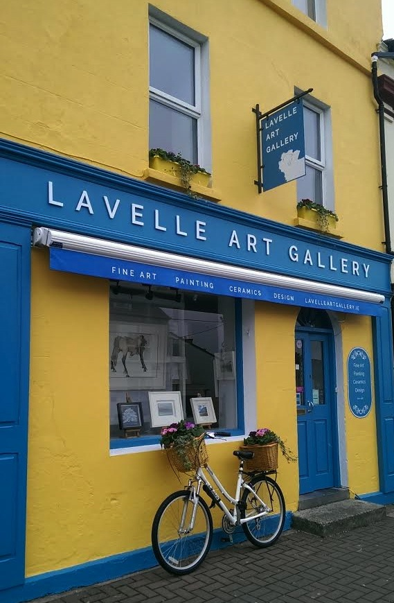 Lavelle Art Gallery with bicycle