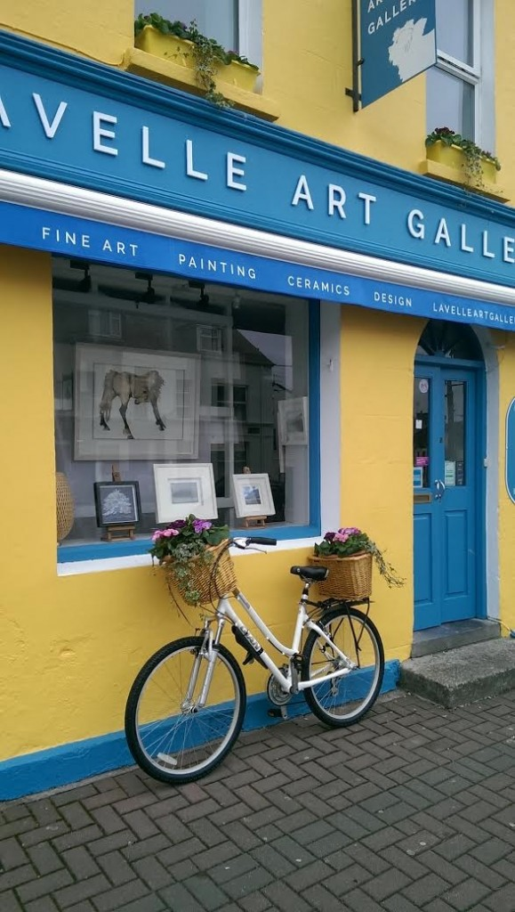 Lavelle Art Gallery shopfront