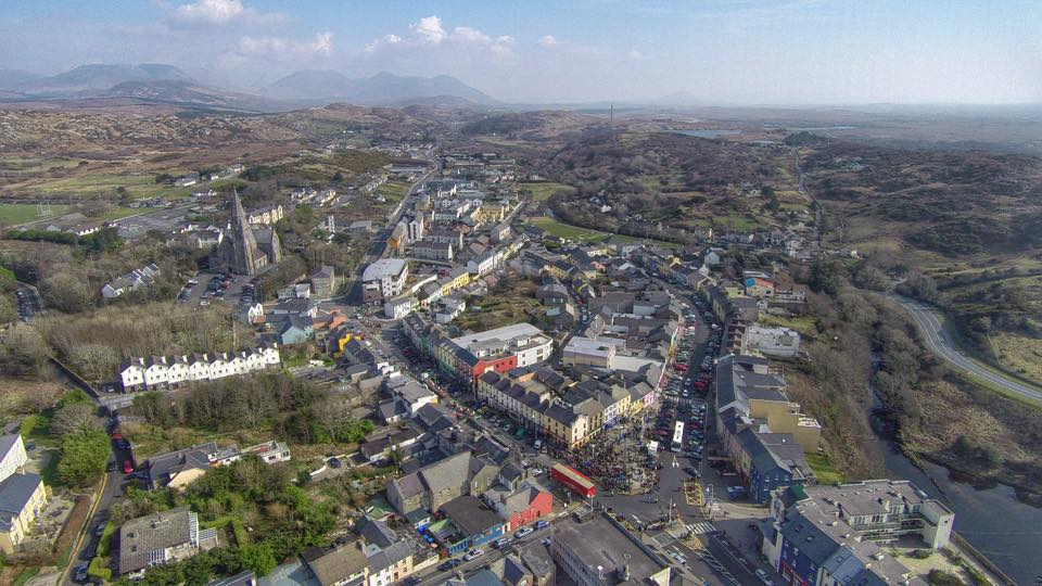 Clifden - St. Parick's Day 2015 by Aerial Eye