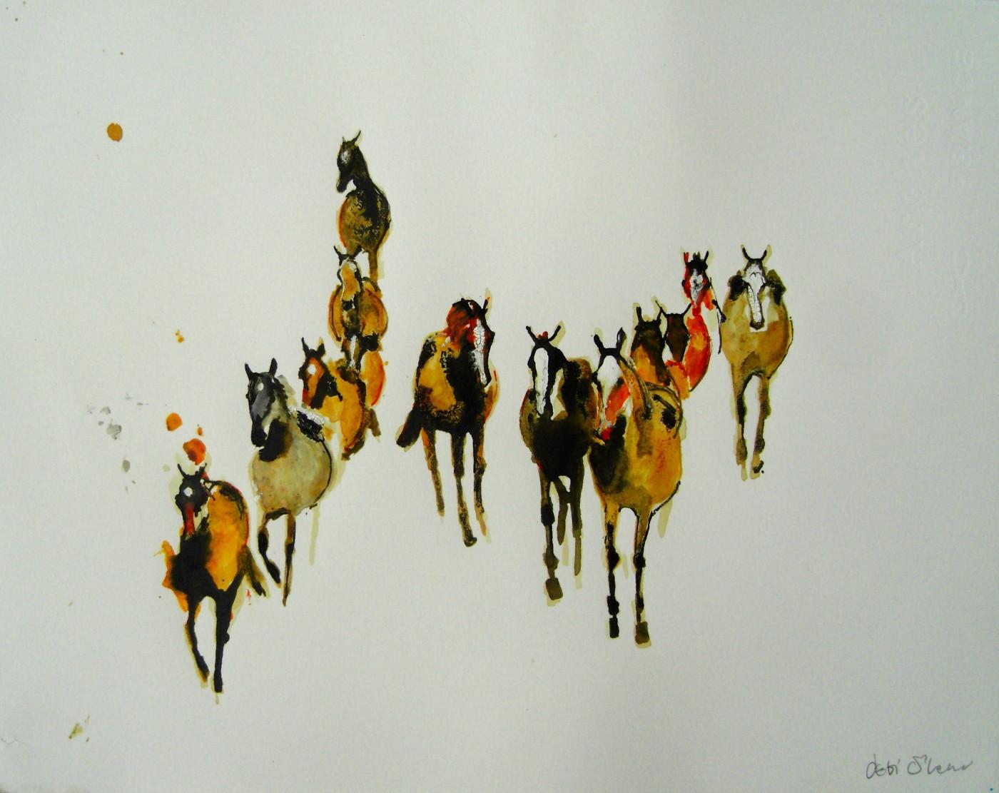 Horse Study VI by Debi O'Hehir