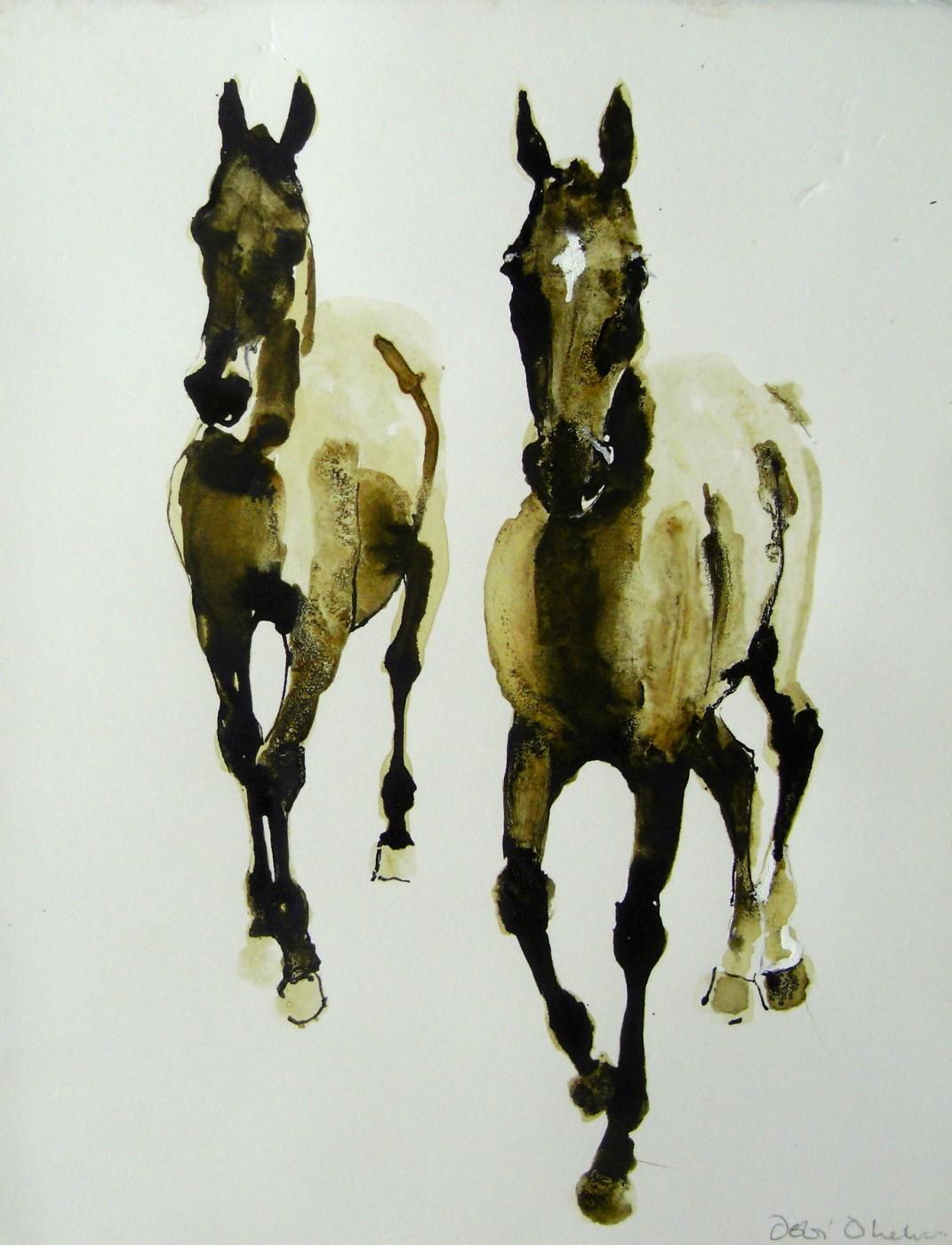 Horse Study VII by Debi O'Hehir