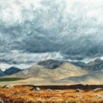 Bog, Mountains and Sky by Laureen Marchand