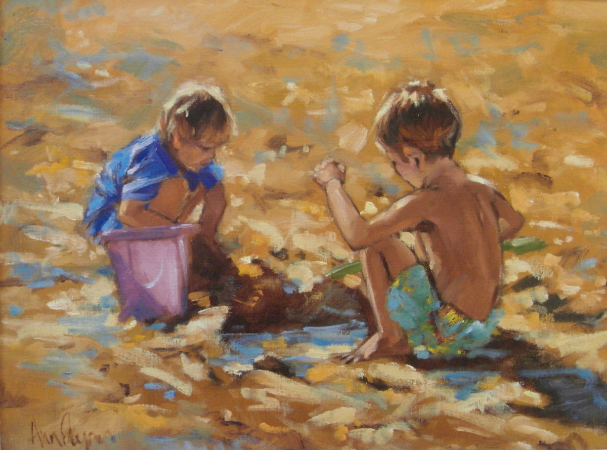 Beach Boys by Ann Flynn