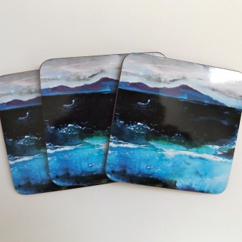 Coaster - Winter Seascape