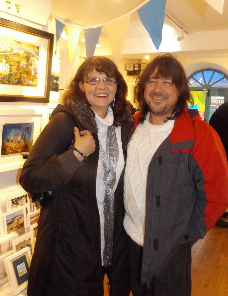 Timea Varga and Peter Huszti