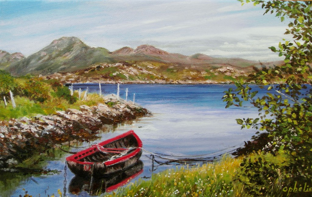 Derryinver, Connemara by Renee Plantureux