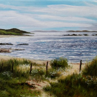 Glassilaun Beach, Renvyle