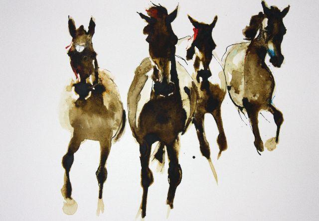 Horses by Debi O'Hehir