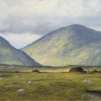 Bogland Inagh Valley by Manson Blair