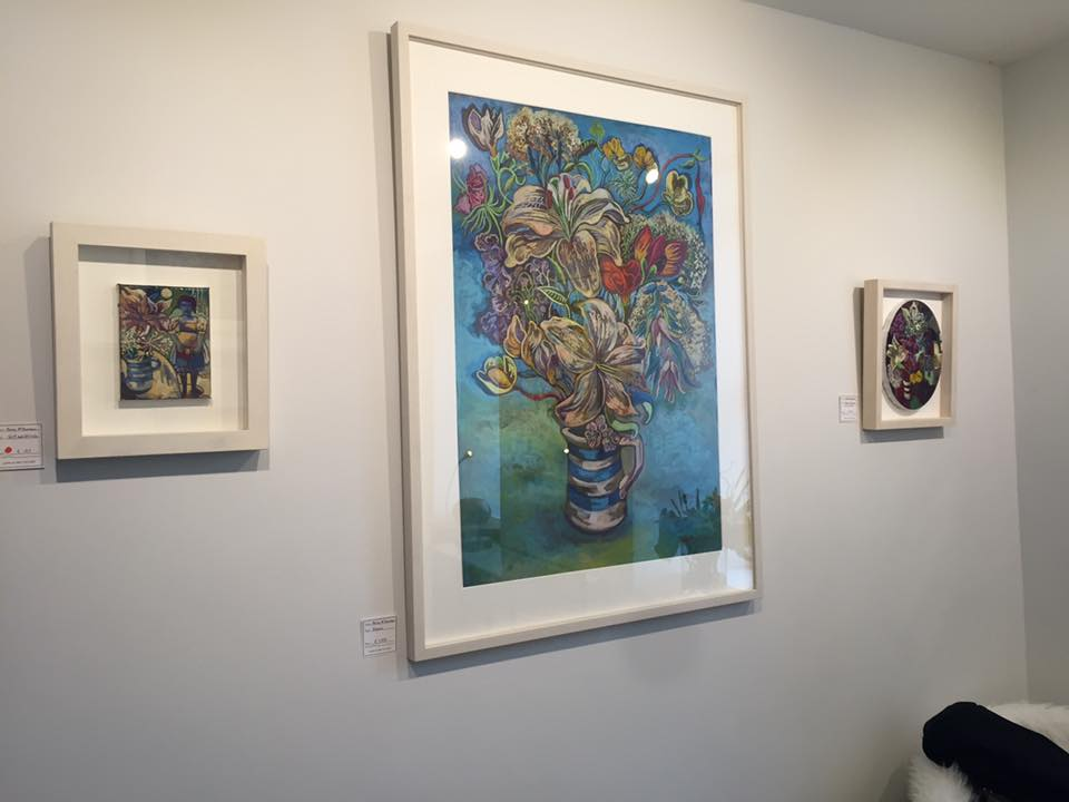 Rosie's work at the Lavelle Art Gallery