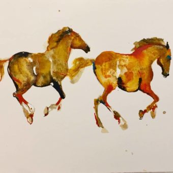 Two Gold by Debi O'Hehir