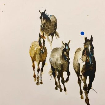 Walking Four by Debi O'Hehir