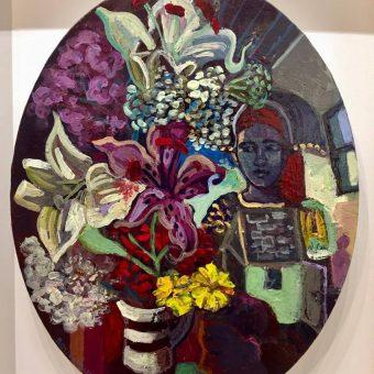 Three Figures, Inishlacken by Rosie McGurran