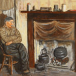 Old Fireside by Keith Glasgow