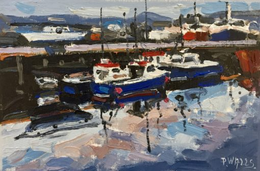 Blue Boats by Paul Walls