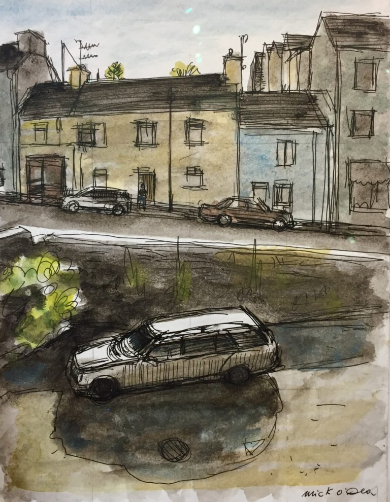 Parked Cars by Mick O'Dea
