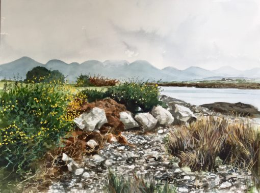 Foreshore Roundstone Bay by Arnold Gardiner