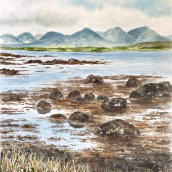 Low Tide by Arnold Gardiner