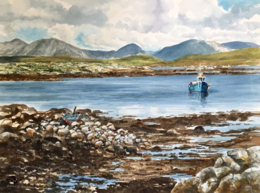 Off Roundstone by Arnold Gardiner