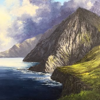 Croaghan Cliffs, Achill Head by Eoin Lane