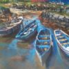 Old Harbour Roundstone by Dave West
