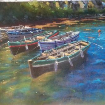 Roundstone Harbour by Dave West