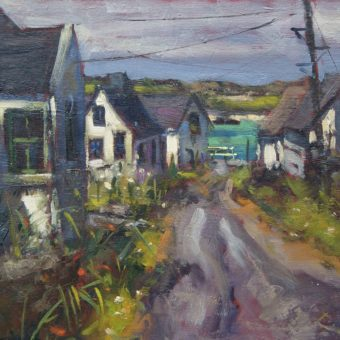 East End Village Inishbofin by Dave West