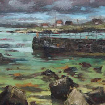 Ervallagh and Inishlacken by Dave West