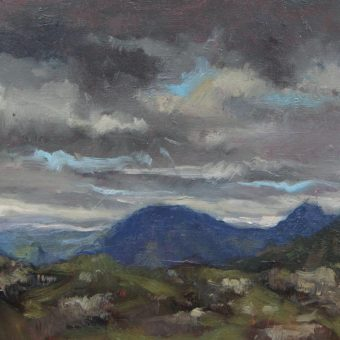 Mountain Landscape, Connemara by Dave West