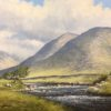 In the Delphi Valley, County Mayo by Manson Blair