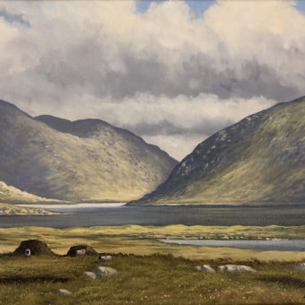 Doo Lough by Manson Blair