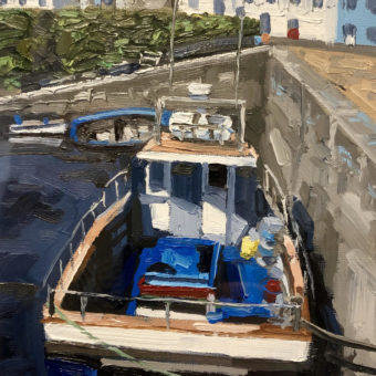 Fishing Boats at Roundstone by Paul Walls