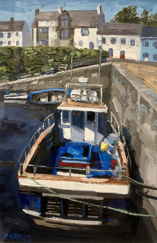 Fishing Boat at Roundstone by Paul Walls