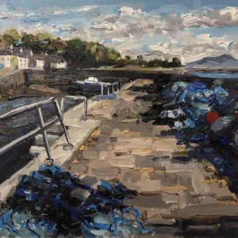 Nets at Roundstone by Paul Walls