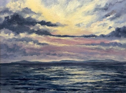 Evening Light Inishbofin by Eoin Lane