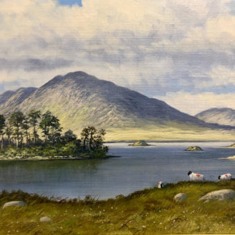 By Derryclare Lough by Manson Blair