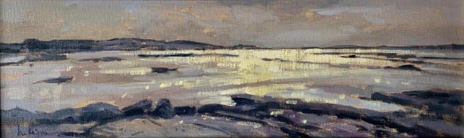 Low Tide Omey Island by Ann Flynn