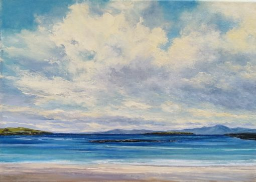 East End Beach Inishbofin by Eoin Lane