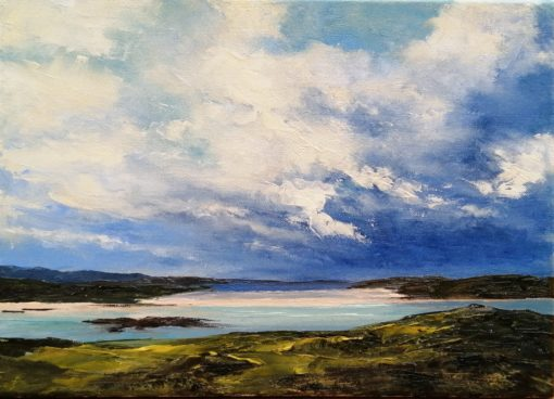 Omey Island and Tidal Strand by Eoin Lane